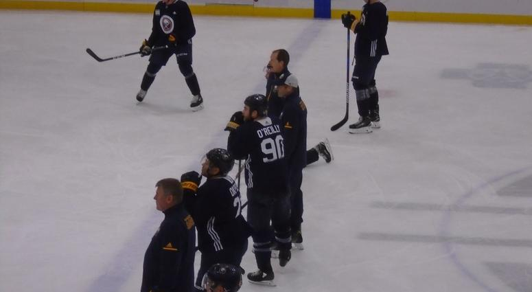 The Sabres needed a practice wakeup call from the coaches