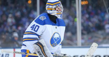 Sabres' Lehner knows his name comes up in trade talk