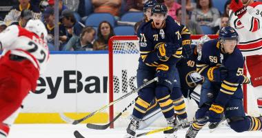 Sabres ink Pu to his first pro contract.