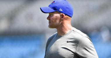 """McDermott says Tyrod Taylor has had some """"playoff caliber moments"""""""