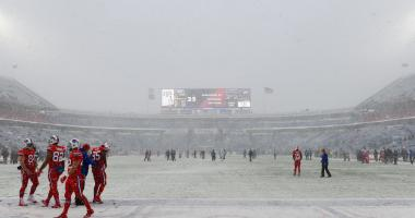 Bills and Colts scoreless in the snow