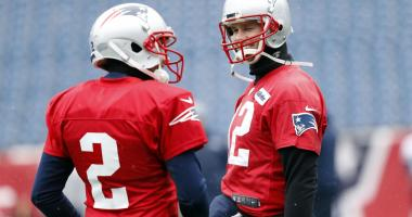 Brady questionable; Patriots & Vikings favored heading into Sunday