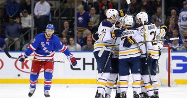 From the Locker Room: Sabres-Rangers, Indoor Edition