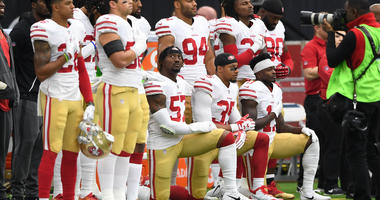 Could the NFL make a rule requiring players to stand for the anthem?