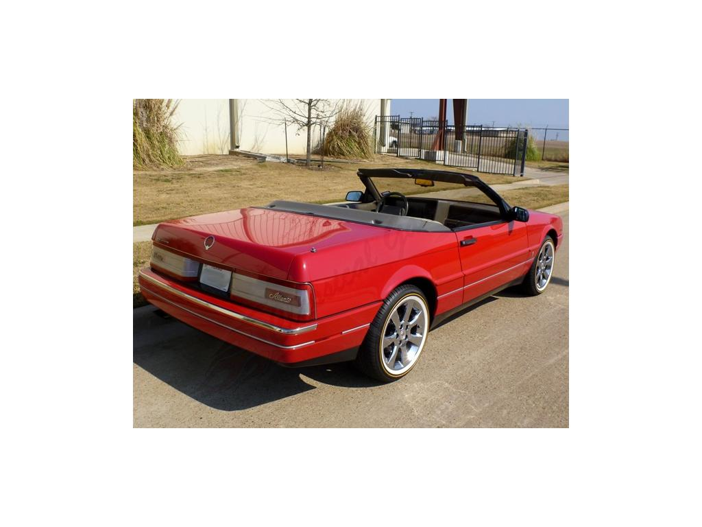 1993 cadillac allante convertible stock for sale hotrodhotline. Cars Review. Best American Auto & Cars Review