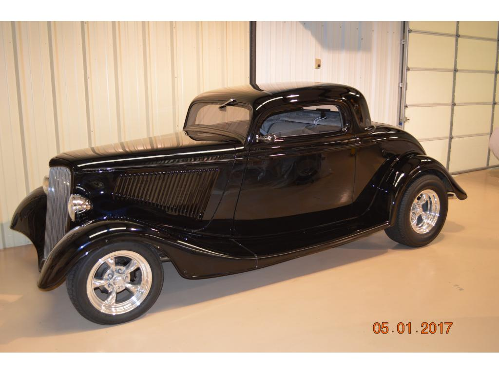1934 ford coupe 3 window coupe v8 8 for sale hotrodhotline for 1934 ford three window coupe for sale