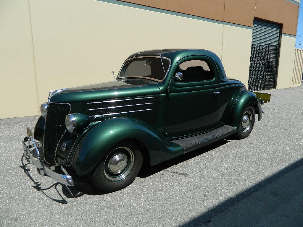 1936 ford 3 window 2 door all steel coupe restored three for 1936 ford 3 window