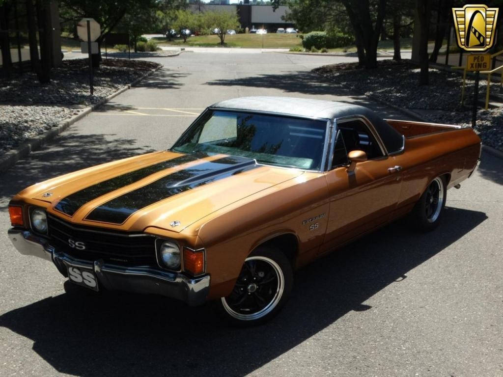 1972 chevrolet el camino for sale hotrodhotline. Black Bedroom Furniture Sets. Home Design Ideas