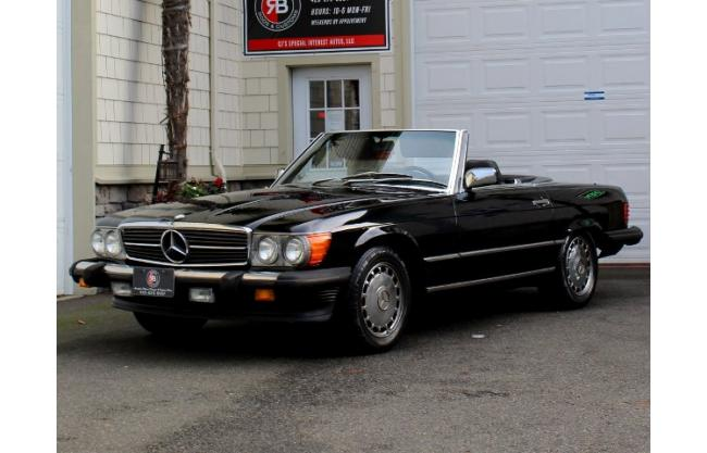 1988 mercedes benz 560sl convertible for sale hotrodhotline for 1988 mercedes benz 560sl for sale