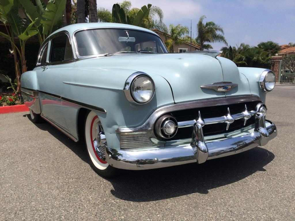 1953 chevrolet bel air 2 door coupe for sale hotrodhotline