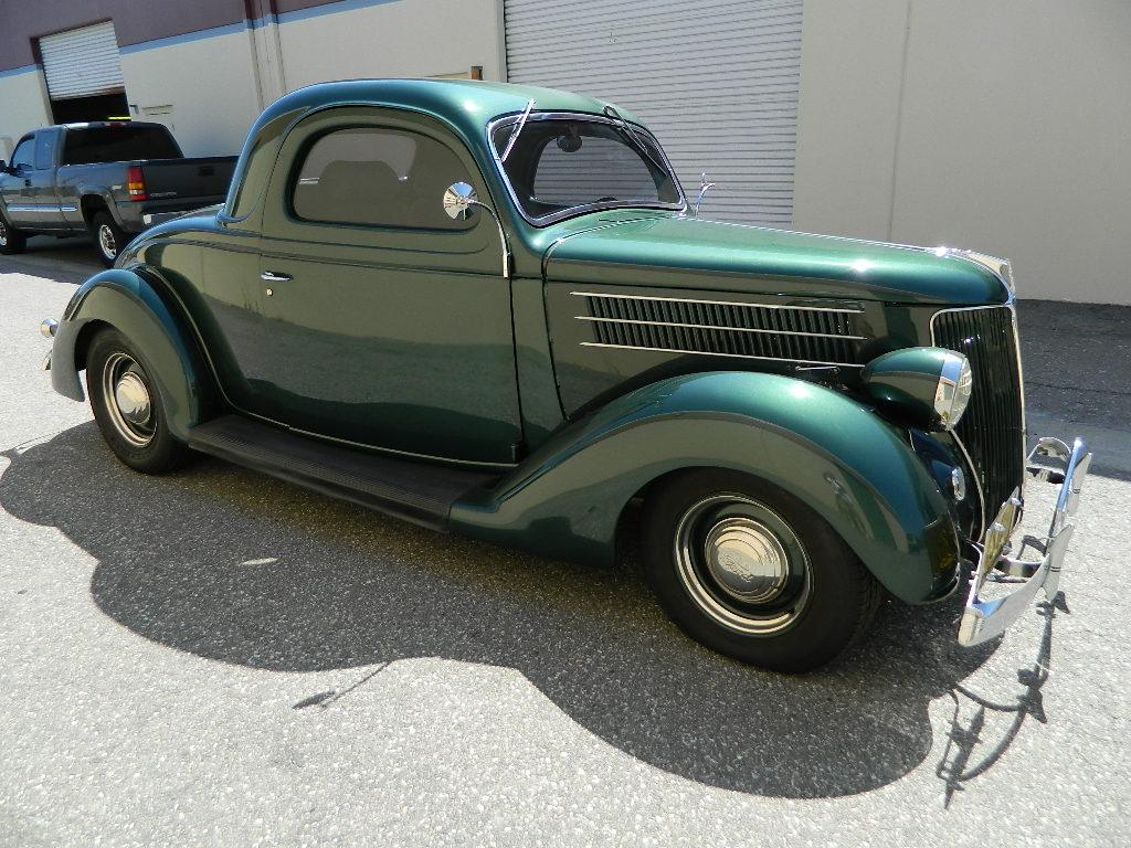 1936 ford 3 window 2 door all steel coupe restored three for 1936 ford 3 window for sale