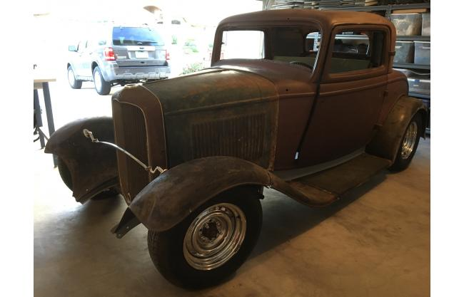 1932 ford 3 window 3 window all steel coupe three window for 1932 ford 3 window coupe steel body