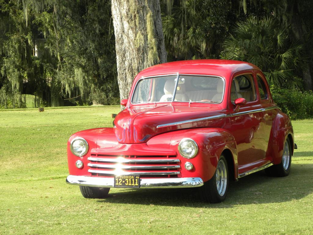 1948 ford coupe 2 door all steel coupe deluxe restored v8 for 1948 ford 2 door coupe