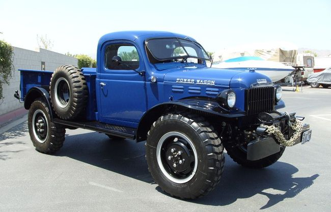 1946 Dodge Power Wagon For Sale Hotrodhotline 50927
