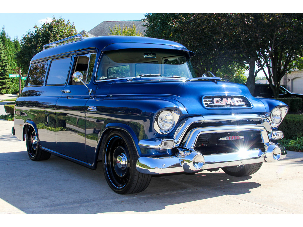 1954 gmc suburban for sale hotrodhotline. Black Bedroom Furniture Sets. Home Design Ideas