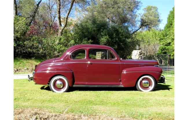 1941 ford super deluxe 2 door all steel coupe flathead for 1941 ford 4 door