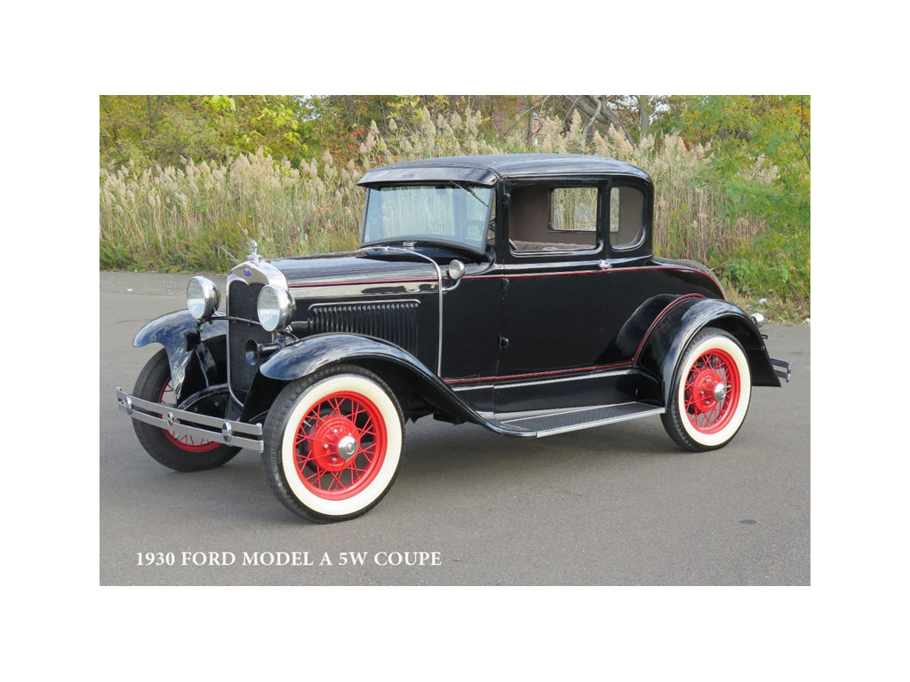 1930 ford 5 window all steel coupe original restored stock for 1930 ford 5 window coupe for sale