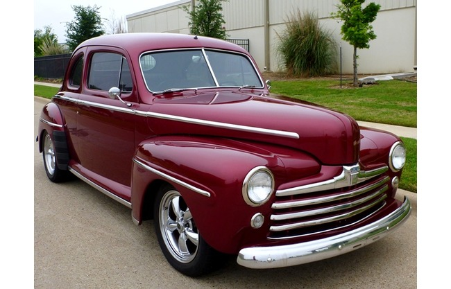 1947 ford coupe v8 2 door restored for sale hotrodhotline for 1947 ford 2 door