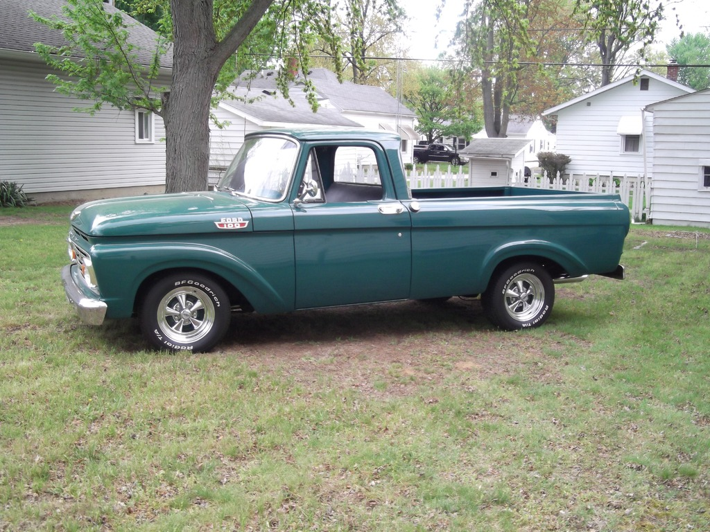 1963 ford f 100 stock original all steel pickup truck for. Black Bedroom Furniture Sets. Home Design Ideas