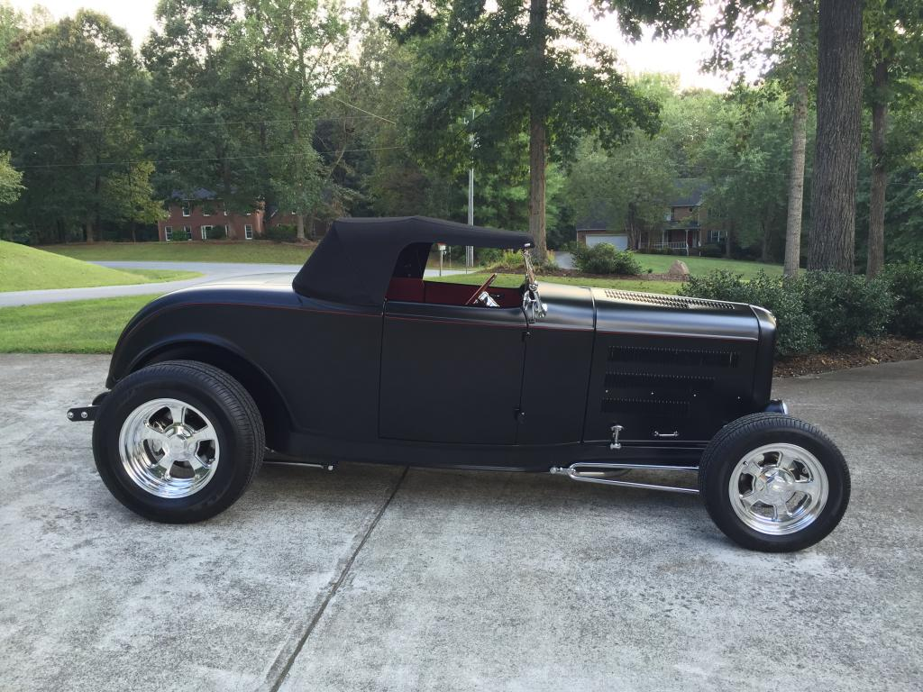 1932 ford roadster 2 door all steel chopped hi boy for 1932 ford 4 door for sale