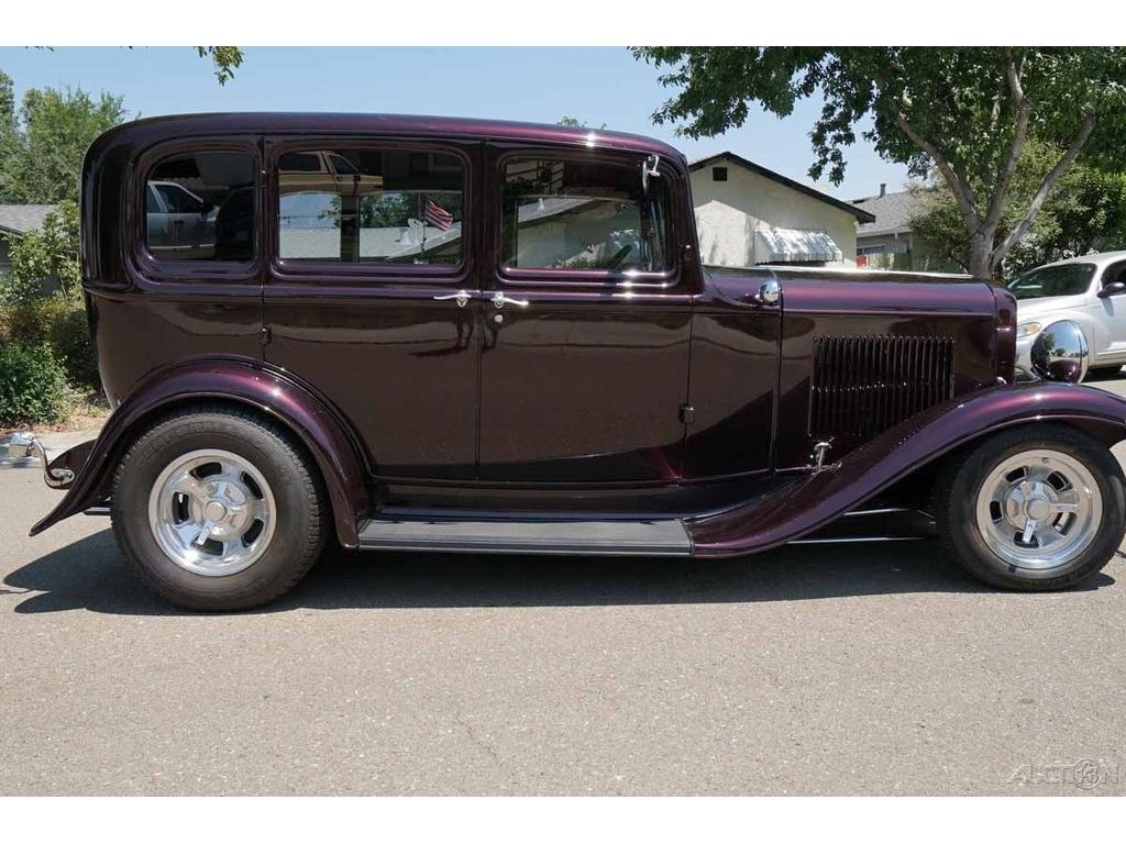 1932 ford sedan 4 door all steel restored v8 8 engine swap for 1932 ford four door
