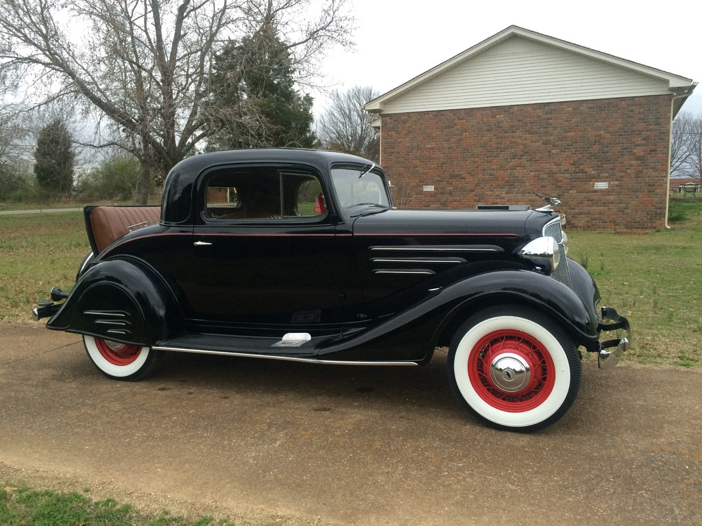 1934 chevrolet 3 window stovebolt six stock original for 1934 3 window coupe for sale