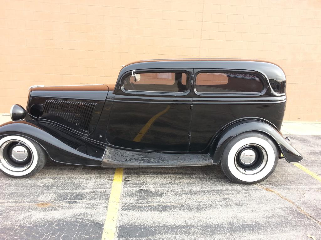 1934 ford 5 window all steel chopped sedan for sale for 1934 ford 5 window for sale
