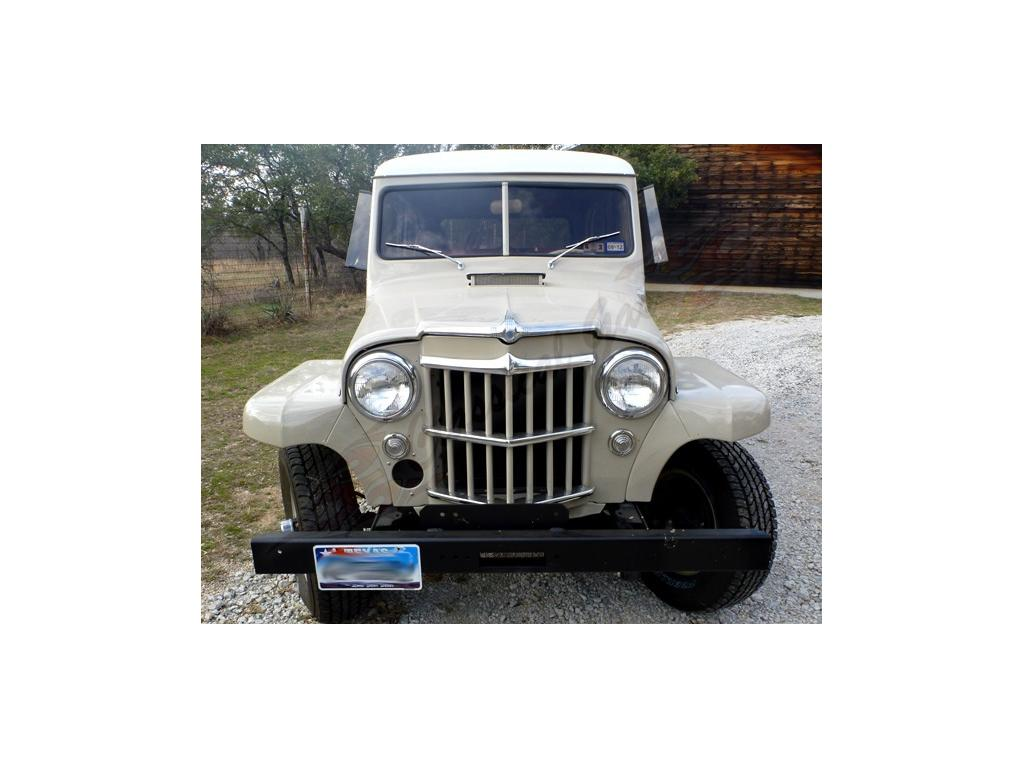 1958 Jeep Willys All Steel Restored for sale Hotrodhotline #604432