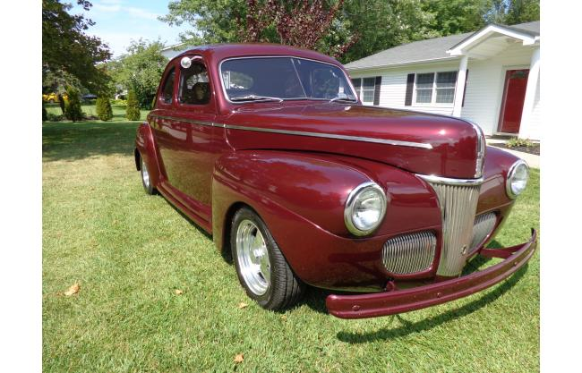 1941 ford coupe 2 door coupe super deluxe v8 engine swap for 1941 ford 4 door