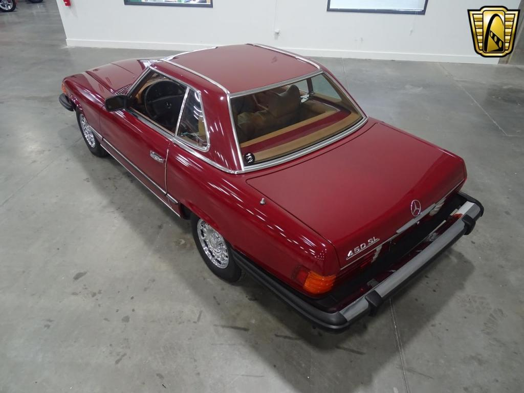 1979 Mercedes Benz 450sl For Sale Hotrodhotline