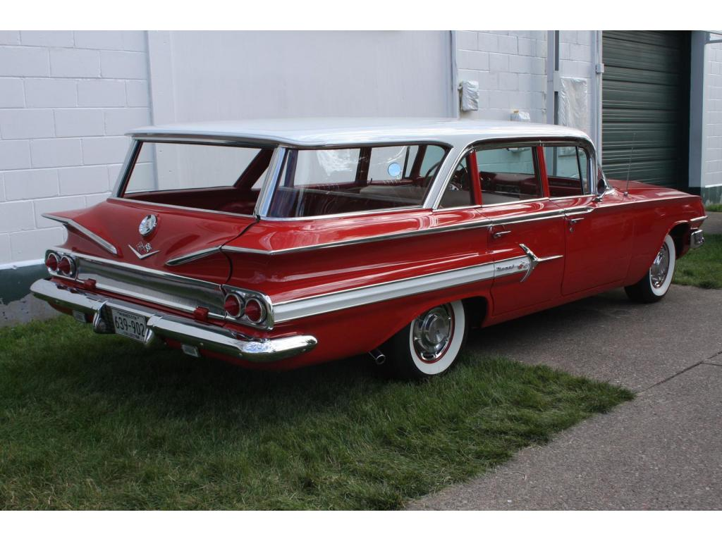 1960 chevrolet nomad restored wagon for sale hotrodhotline. Black Bedroom Furniture Sets. Home Design Ideas