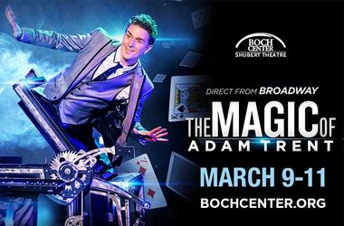 Adam Trent at Boch Center Shubert Theatre