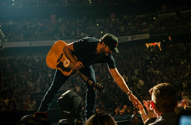Luke Bryan at Fenway Park