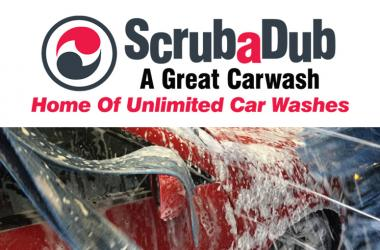One Year of Unlimited Express Car Washes from ScrubaDub