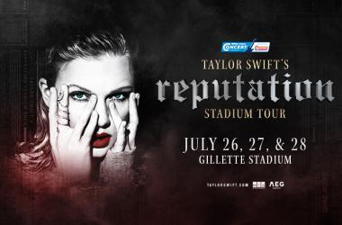 Taylor Swift 3rd show at Gillette Stadium