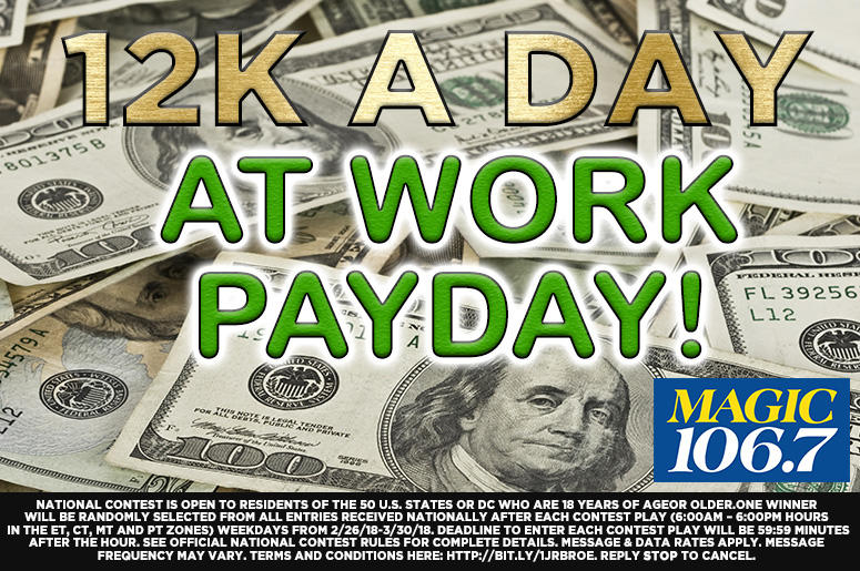 12K A Day At Work Payday