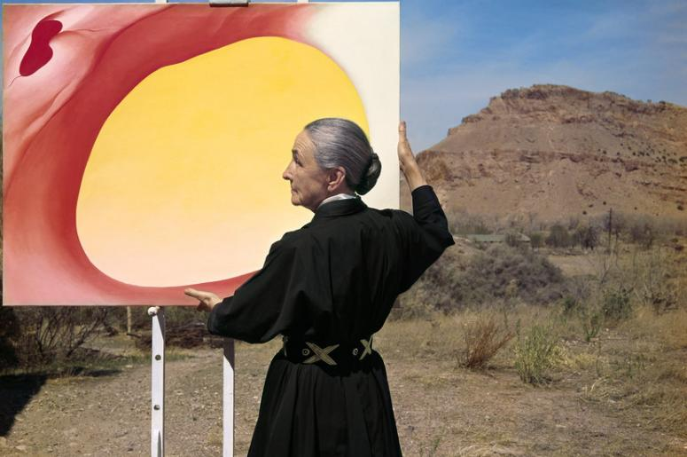 Georgie O'Keeffee at The Peabody Essex Museum