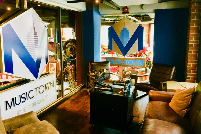 MusicTown Detroit Broadcast Studio