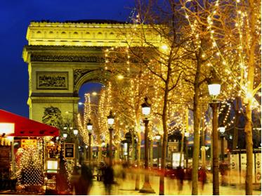 Zimný Paríž