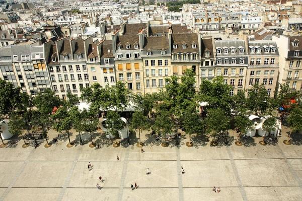 Výhľad z Centre Pompidou