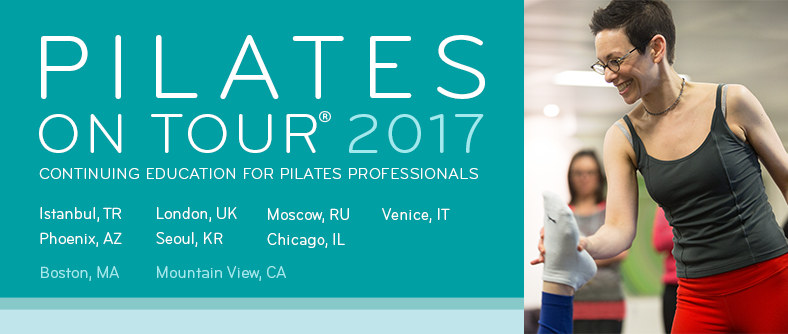 Pilates on Tour 2017