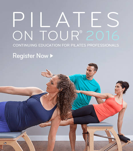 Pilates on Tour -- Continuing education for Pilates professinoals