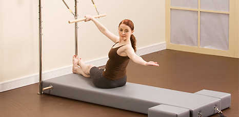 allegra reformer trapeze how to use