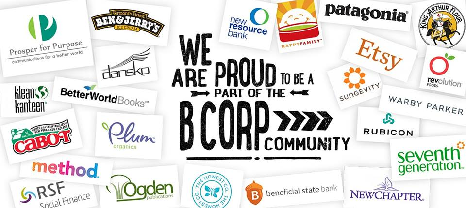 Collage of B Corp company logos