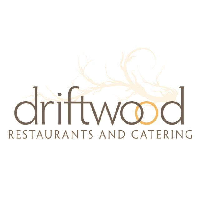 Lowercase driftwood logo