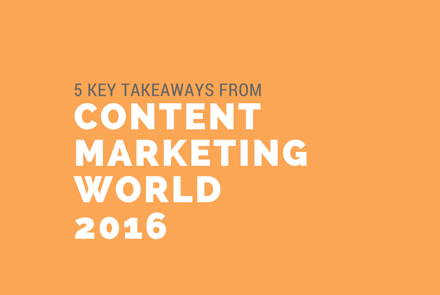 Content Marketing World 2016 graphic