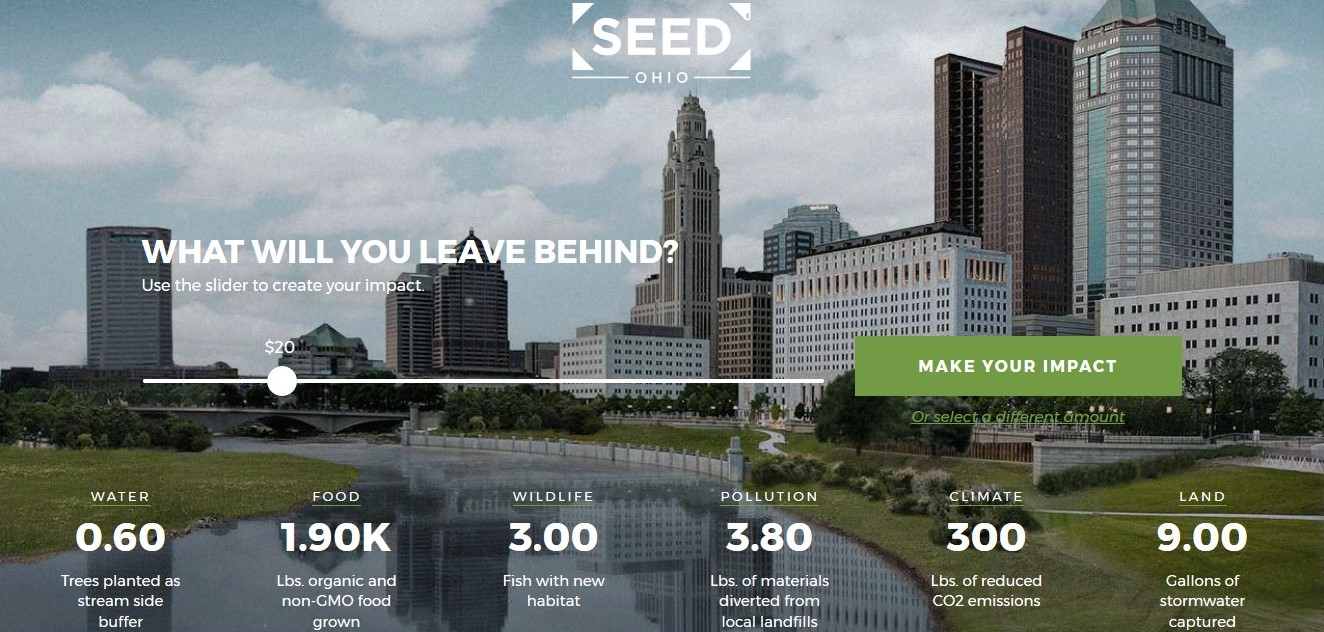 SEED Ohio Website Home Page