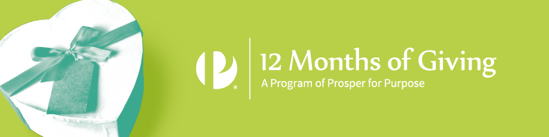 12 Months of Giving Logo