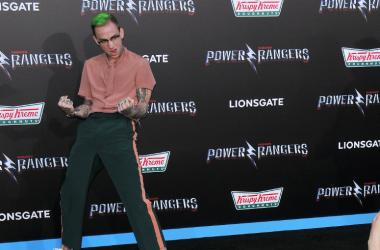 """Blackbear arrives at """"Saban's Power Rangers"""" Los Angeles Premiere held at The Village Theatre in Westwood, CA on Wednesday, March 22, 2017."""