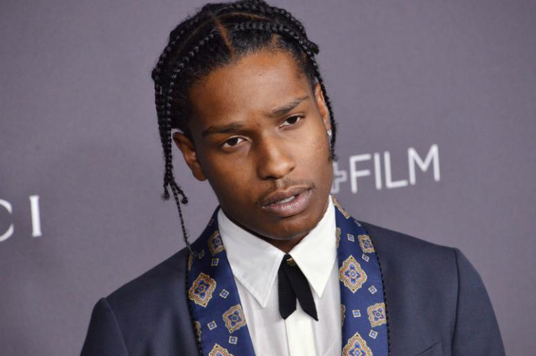 A$AP Rocky arrives at the 2016 LACMA Art + Film Gala held at LACMA in Los Angeles, CA on Saturday, October 29, 2016.